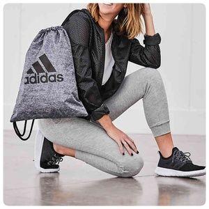 { adidas } drawstring logo bag